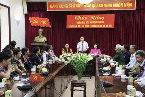 Thứ trưởng Lê Tấn Dũng tiếp Đoàn đại biểu người có công tỉnh Đắk Nông