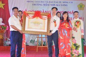 Trường Mầm non Ka Long đạt chuẩn Quốc gia mức độ 1