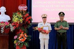 Bổ nhiệm Giám đốc Công an tỉnh Bình Phước