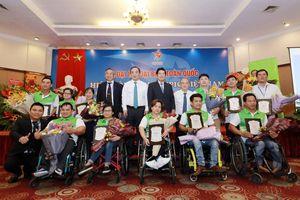 Herbalife phối hợp cùng Hiệp hội Paralympic Việt Nam tổ chức lễ vinh danh VĐV Paralympic Việt Nam