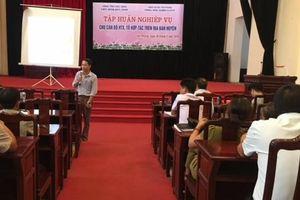 Yên Phong: Tập huấn nghiệp vụ cho cán bộ HTX, tổ hợp tác