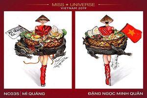Chục ngàn 'haha' cho trang phục Miss Universe hình bàn thờ