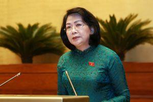 Phó chủ tịch nước được ủy nhiệm trình Quốc hội phê chuẩn Công ước 98