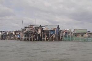Sitio Pariahan - ngôi làng đang chìm trong nước biển của Philippines