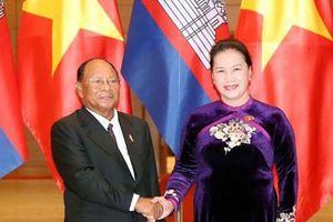 Phát huy tình đoàn kết Việt Nam - Campuchia