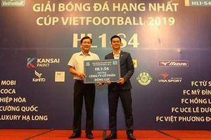 Giải Bóng đá hạng Nhất - Cúp Vietfootball hứa hẹn nhiều trận đấu hấp dẫn