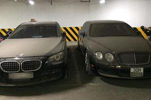 Xe sang Bentley tiền tỷ vứt xó hơn 1 năm ở Hà Nội
