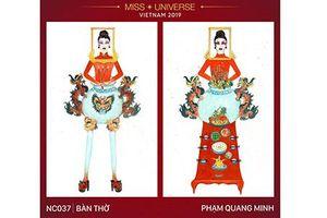 Thiết kế trang phục 'Bàn thờ' thi Miss Universe: Sáng tạo hay điên rồ?