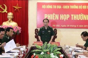 Hội đồng Thi đua - Khen thưởng BĐBP họp phiên thường kỳ