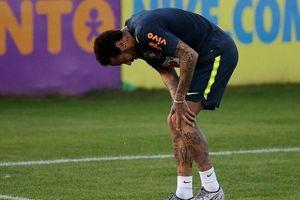 Neymar dính chấn thương, có thể chia tay Copa America