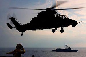 Đến lượt trực thăng hải quân Australia 'dính đòn' Trung Quốc ở Biển Đông?