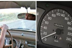 Mua ô tô cũ cần tỉnh táo để không bị gian thương lừa chạy lại công-tơ-mét