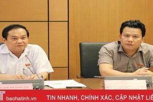 Đoàn ĐBQH Hà Tĩnh đóng góp nhiều ý kiến thiết thực vào các dự án luật