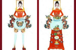 Thiết kế 'Bàn thờ' cho Hoàng Thùy gây tranh cãi dữ dội