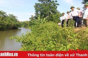 Huyện Nga Sơn chủ động các phương án phòng chống thiên tai và tìm kiếm cứu nạn