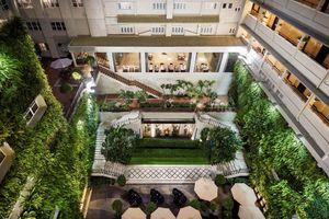 Điểm hẹn cuối tuần tại khu vườn đứng Rex Hotel Saigon
