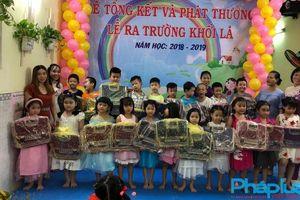 TP.HCM: Trường mầm non Hoa Lan tổ chức buổi tổng kết và ra trường năm học 2018 - 2019