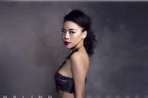 Ca sĩ Hà Linh: 'Tôi không mặc hở hang nữa và sẽ 'núp bóng' chồng'