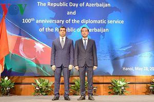 Azerbaijan kỷ niệm Quốc khánh, đẩy mạnh quan hệ với Việt Nam