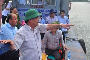 Quảng Trị quyết liệt xử lý vấn nạn khai thác cát sỏi trái phép