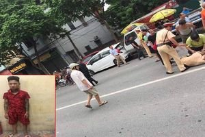 Bị yêu cầu dừng xe, nam thanh niên xăm trổ tăng ga tông trúng Trung úy CSGT