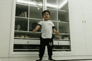 Con trai 4 tuổi của Khánh Thi nhảy dancesport thuần thục