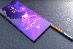 Lộ diện thiết kế chính thức của Galaxy Note 10