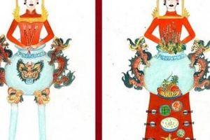 Thiết kế trang phục 'bàn thờ': Đánh đổi văn hóa lấy sự chú ý?