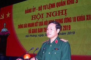 Quân khu 3: Thông báo nhanh kết quả Hội nghị lần thứ 10, Ban Chấp hành Trung ương Đảng khóa XII