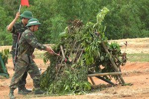 BĐBP Quảng Trị: Kiểm tra thực hành 3 tiếng nổ cho chiến sỹ mới
