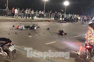 Phóng xe 'tốc độ tử thần', đâm kinh hoàng trong đêm, 2 người chết, 2 người nguy kịch
