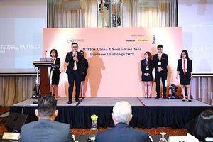 Thí sinh VN là Nhà hùng biện xuất sắc cuộc thi Chiến lược Kinh doanh ICAEW