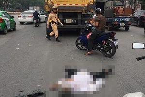 Tài xế xe ôm tử vong sau va chạm với xe tải