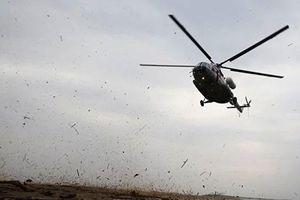 Rơi trực thăng quân sự Ukraina, 4 người chết