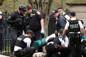 Mỹ: Một người đàn ông tự thiêu ngay bên ngoài Nhà Trắng