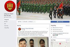 Công an Hà Nội sẽ tiếp nhận thông tin an ninh trật tự qua… Facebook