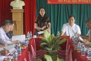 Khảo sát kết quả 10 năm thực hiện Quyết định 221-QĐ/TW của Ban Bí thư tại tỉnh Đắk Nông