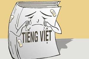 Khi tiếng Việt đụng chạm tiếng Anh