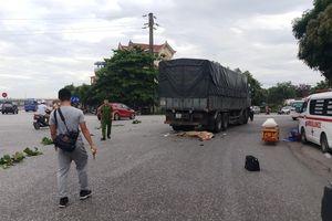 Nghệ An: Mẹ cùng con gái 8 tuổi chết thảm dưới bánh xe tải