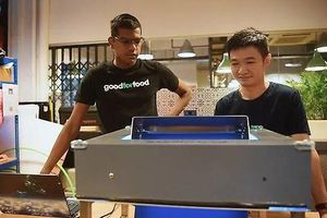 Chàng trai Singapore khởi nghiệp bằng công nghệ chống lãng phí thực phẩm