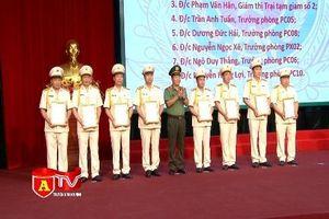 Hơn 6.500 CBCS CATP Hà Nội thăng cấp bậc hàm, nâng lương năm 2019