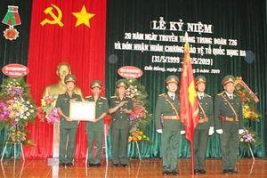 Trung đoàn 726 đón nhận Huân chương Bảo vệ Tổ quốc hạng Ba