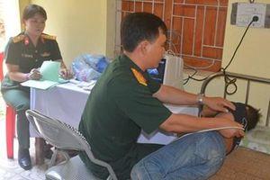 Tổng cục II tổ chức chương trình quân-dân y kết hợp tại tỉnh Nghệ An