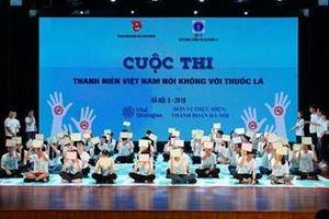 Trung ương Đoàn TNCS Hồ Chí Minh mít tinh hưởng ứng Ngày thế giới không thuốc lá