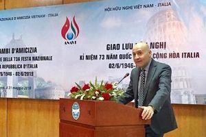 Đại sứ Italia: Sự tương đồng đã giúp hai đất nước gần nhau hơn