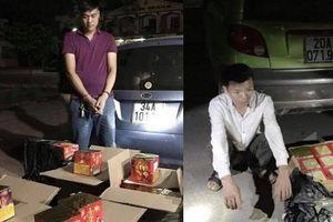 Bắc Giang: Liên tiếp phát hiện bắt giữ các đối tượng tàng trữ, vận chuyển trái phép pháo nổ