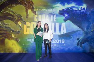 Dàn sao Việt phát cuồng vì 'bom tấn' Chúa Tể Godzilla