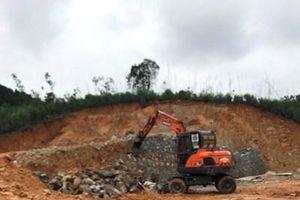 Quảng Ninh vào cuộc vụ hàng nghìn m2 đất rừng bị san gạt trái phép