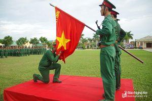 Bộ CHQS Nghệ An tuyên thệ chiến sỹ mới năm 2019