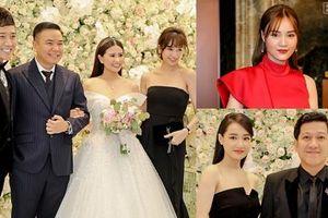 Nguyên dàn sao Việt hạng A cùng quy tụ chúc mừng đám cưới 'đạo diễn trăm tỷ' Nhất Trung